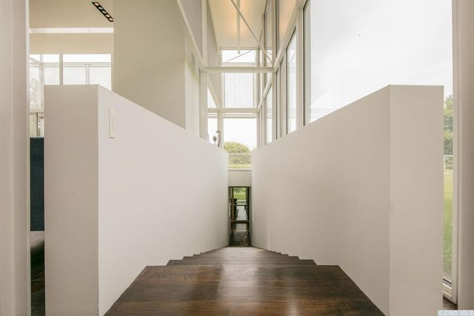 Stairwell between two levels
