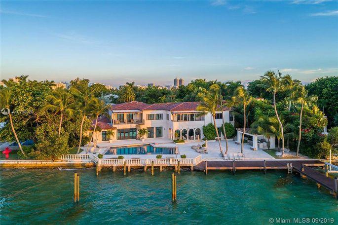 Dwyane Wade's Miami Beach home