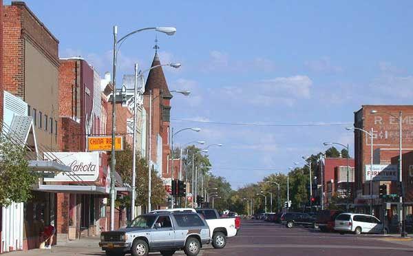 Downtown Lexington, NE
