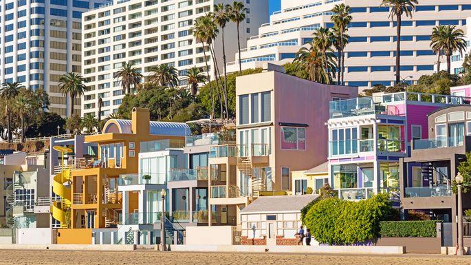 Homes in Santa Monica