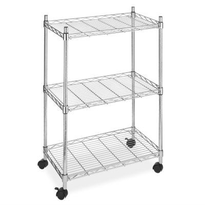 Whitmor three-tiered rolling cart