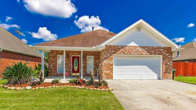 Four-bedroom home in Houma