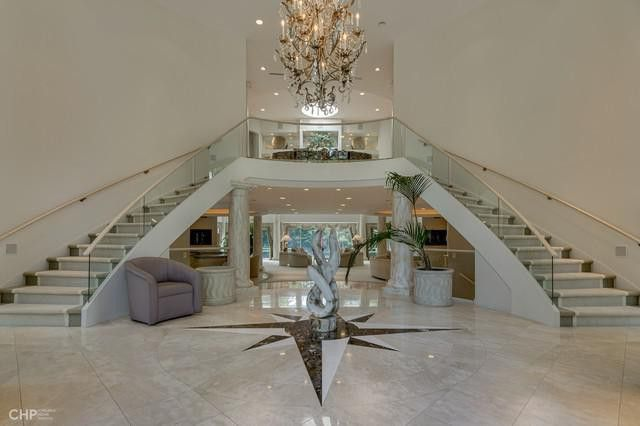 Stairway inside home