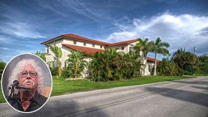 Folk Singer Arlo Guthrie Selling Huge Waterfront Home in Florida