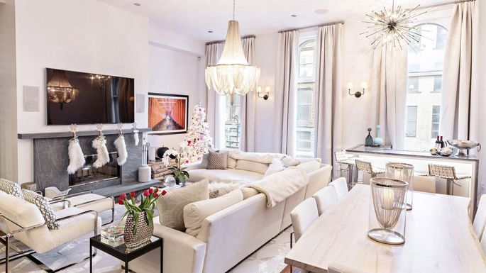 The Soho Loft Of Bethenny Frankel A Veteran Real Housewives New