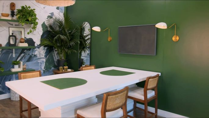 Carmeon Hamilton's table looks great!