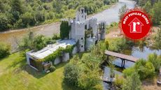 Massive Riverfront Castle in Montana Is the Week's Most Popular Home