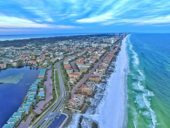 Median home list prices are down in the Destin, FL, metropolitan area.