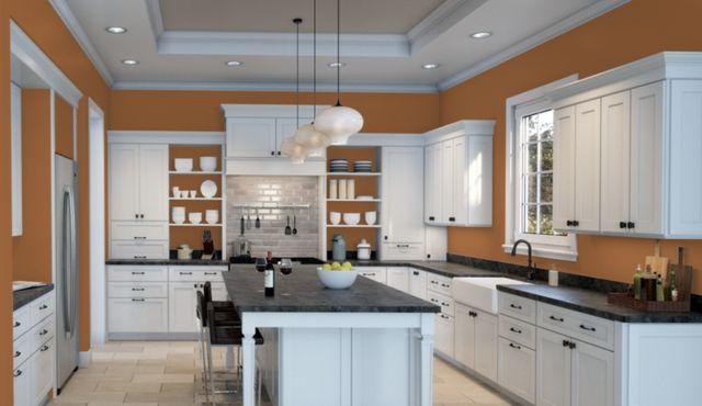 Copper Pot paint in kitchen