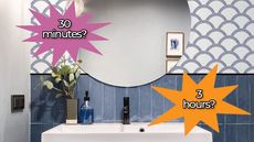 10 Best Bathroom Improvement Projects, Based on How Much Time You Have