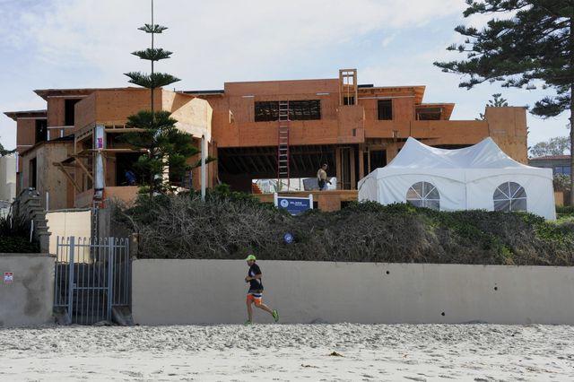 Mitt Romney Mansion Under Construction in 2015