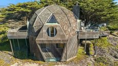 Fun Fixer-Upper? Dome Home Amid the Dunes Needs a Handy Buyer to Dive In