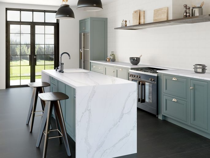 Zero-Maintenance Countertops Are A Thing Of Beauty.