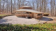 'Higher Level of Yurt Living': Wooden Structure Blends Into the Woods of Connecticut