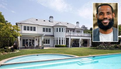 LeBron James Lists Brentwood Mansion for $20.5M