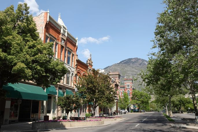 More people are flocking to Provo, UT, and they're looking for large homes with mountain views.